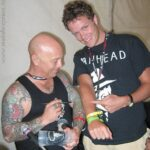 Picture of Angry A. (Rose Tattoo) & Stig (Metal Express)