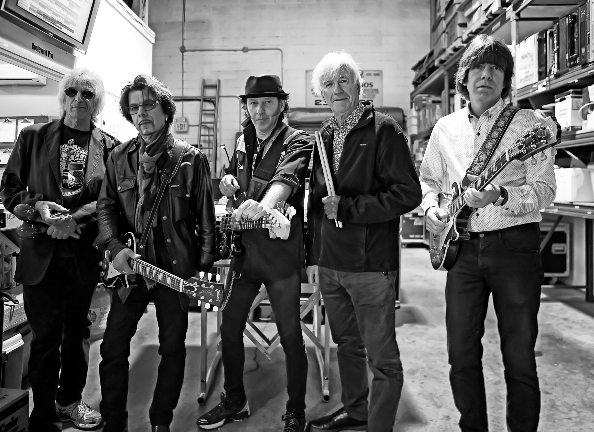 Yardbirds US band 2016 Pic Arnie Goodman