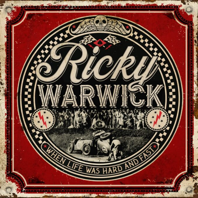 RICKY WARWICK - When Life Was Hard and Fast [Album Reviews ] - Metal  Express Radio