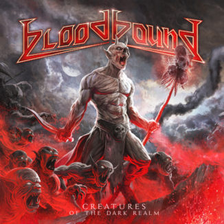 Bloodbound - Creatures of the Dark Realm album cover art